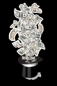 geld hoge hoed pixabay